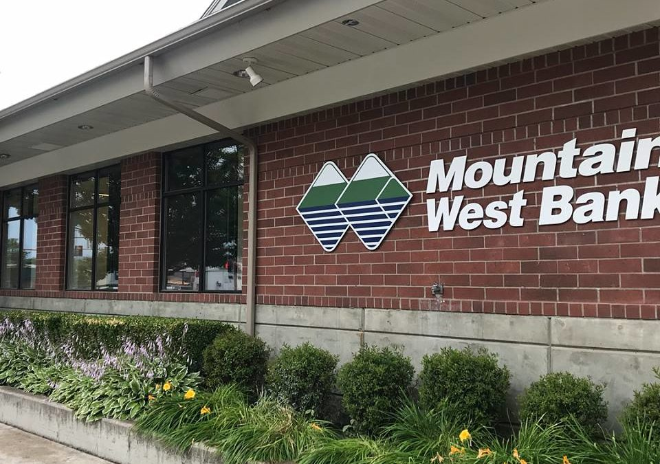 Mountain West Bank uses TintWorks, Inc for remodel